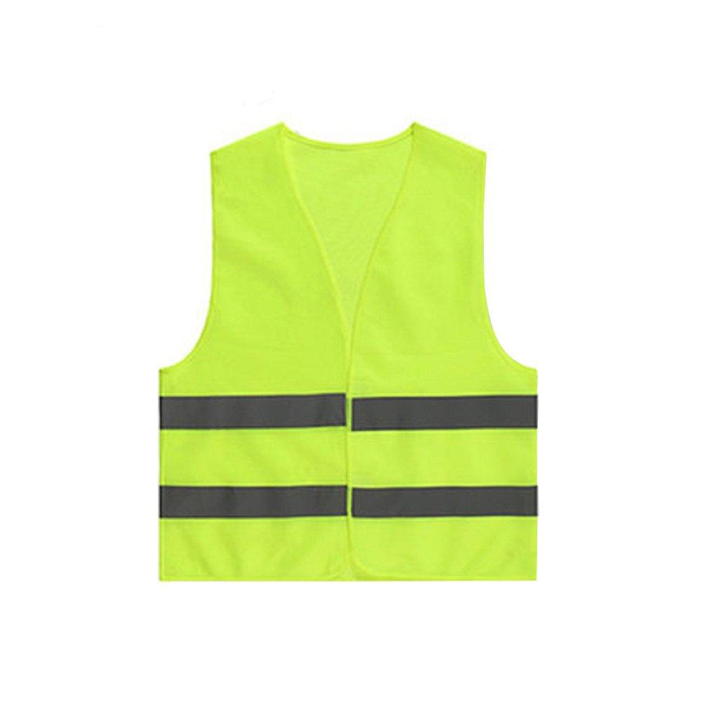 Medium High Visibility Waistcoat Yellow 12 PACK