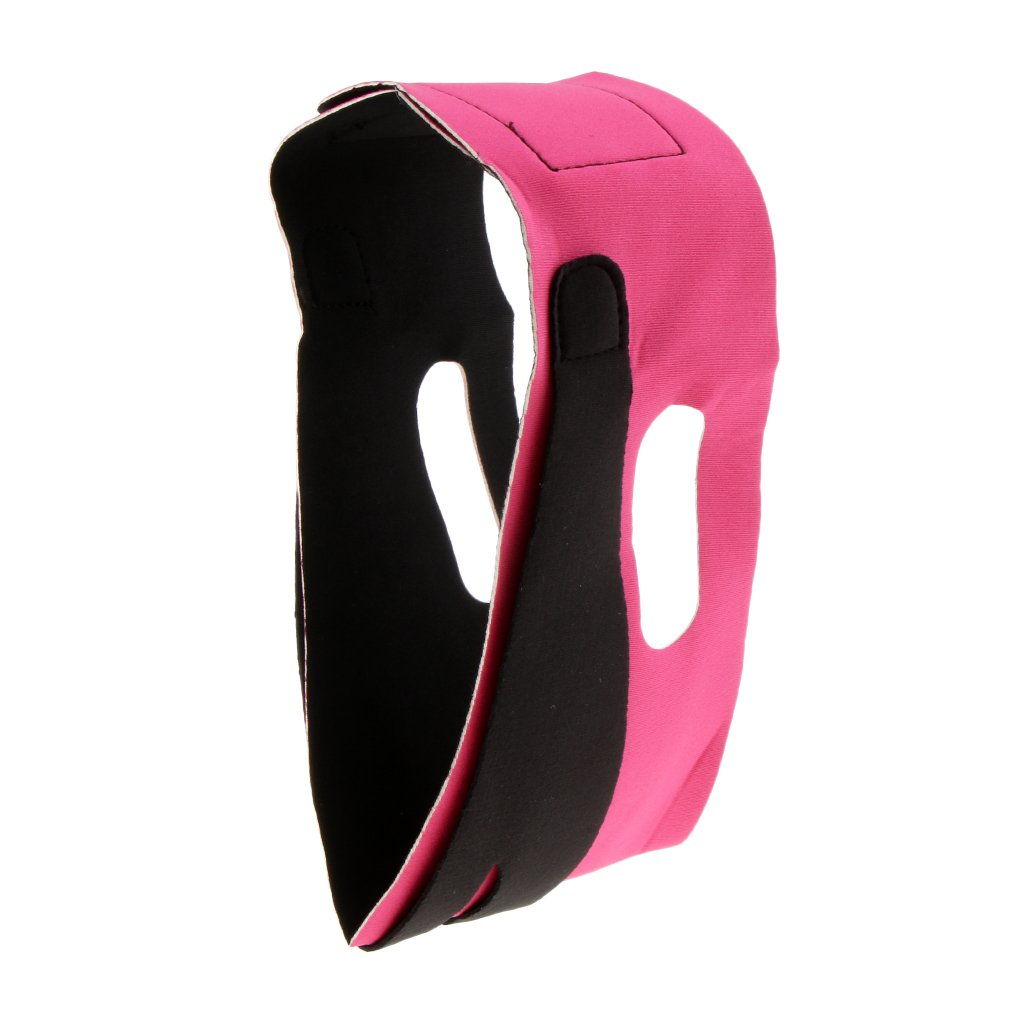 SunniMix Fashion V Line Facial Mask Chin Neck Belt Face Wrinkles Lift Up Elastic Band Breathable