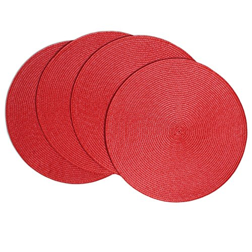 Benson Mills Victorian Round Placemats (Set of 4), 15