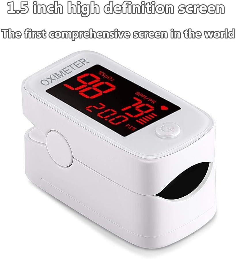 Monitor di saturazione dellossigeno Monitor di saturazione dellossigeno Portatile Cardiofrequenzimetro Pulsossimetro da Dito