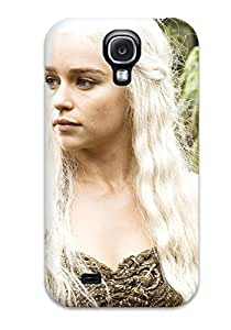 Shock-dirt Proof Emilia Clarke In Hbo Game Of Thrones Case Cover For Galaxy S4