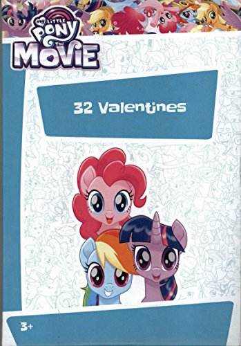 My Little Pony The Movie Kids Valentines Day Card Classroom Exchange (32 count)
