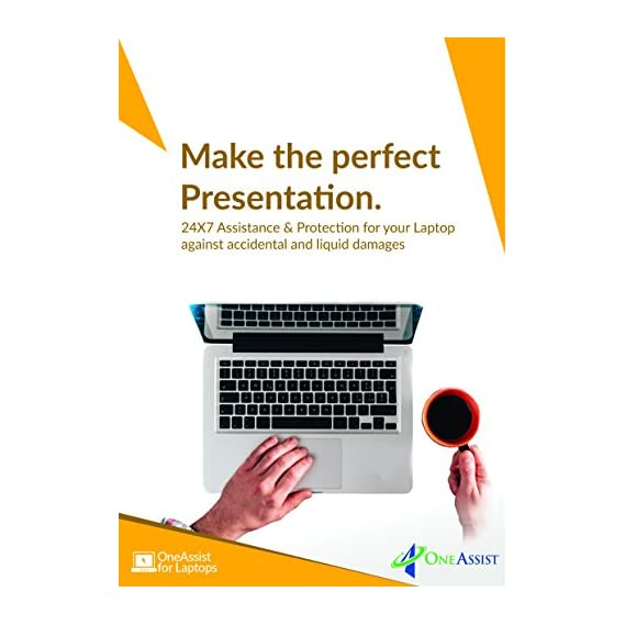 ONE ASSIST Live Uninterrupted 1 Year Damage Protection Plan for Laptops from Rs 30001 to Rs 40000 - for B2B- No Physical