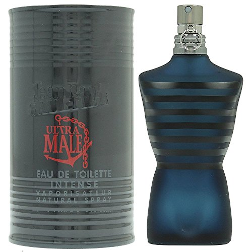Casual Vanilla Eau De Toilette (Jean Paul Gaultier Ultra Male for Men Intense Spray, Eau de Toilette, 4.2 Ounce)