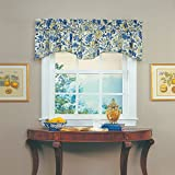 Waverly 10980080X018PCL Imperial Dress 80-Inch by 18-Inch Window Valance, Porcelain For Sale