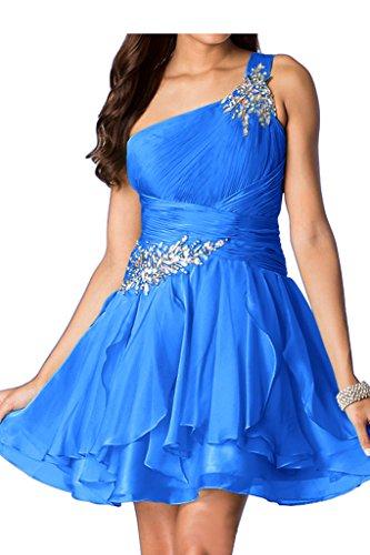 Missdressy - Vestido - trapecio - para mujer Azul Real