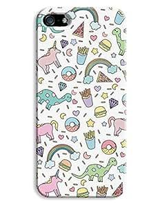 Donuts Dinosaur Kids Design For SamSung Galaxy S5 Mini Phone Case Cover Hard