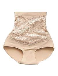 Women's High Waist Seamless Butt Lifter Padded Panties [E]
