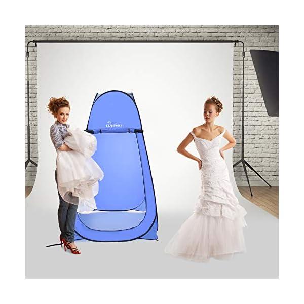 51h1XbCw4pL Wolfwise Pop up Toilettenzelt Umkleidezelt, Camping Duschzelt Outdoor Mobile Toilette Umkleidekabine Lagerzelt