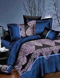 Ch&Ch baolisi® 3d moda estampado floral cómoda ropa de cama de cuatro piezas