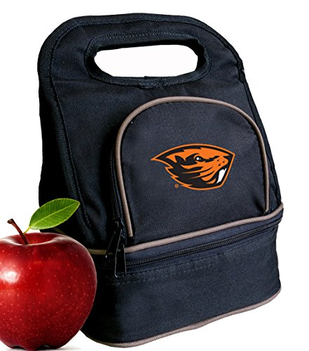 Oregon Cooler Beavers State - Broad Bay Oregon State University Lunch Bag OSU Beavers Lunch Box - 2 Sections!