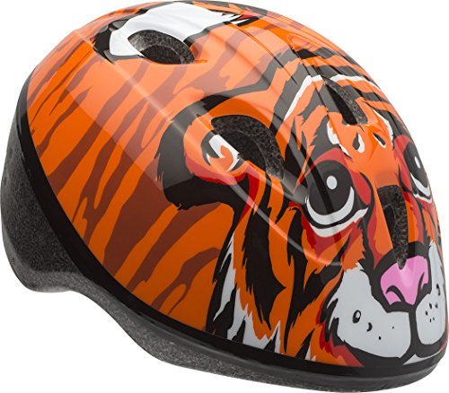 Tiger Helmet - Bell Zoomer Toddler Helmet, Orange Tiger