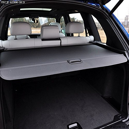 Retractable Rear Trunk Cargo Cover//Trunk Organizers//Trunk Shielding Shade for 08-15 BMW X5 Luggage/&Baggage Privacy//Security//Safety Protecter by Juntu