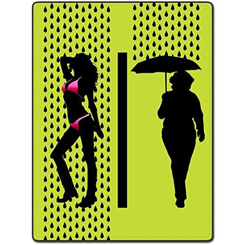 TSlook Sexy Rain Drops Cool Home Welcome Door Mat Rug(24