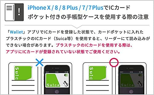 CERTA iPhone XS/X ケース 手帳型 薄型 [グリーン]