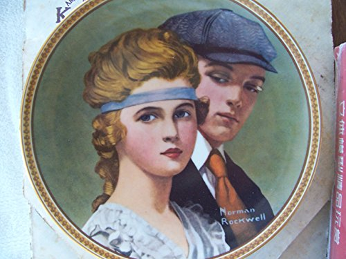 Knowles Norman Rockwell Meeting on the Path Collector Plate
