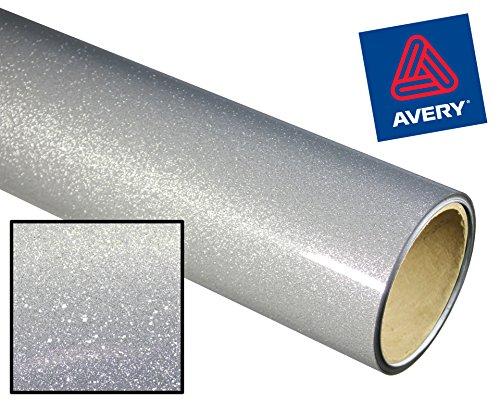 Avery High Gloss Metallic Glitter Vinyl Adhesive Vinyl 12