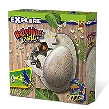 SES Creative Eclosión de Dino - Juguetes interactivos (Multicolor, Dinosaurio, 4 año(s), Niño, Interior, 70 mm)