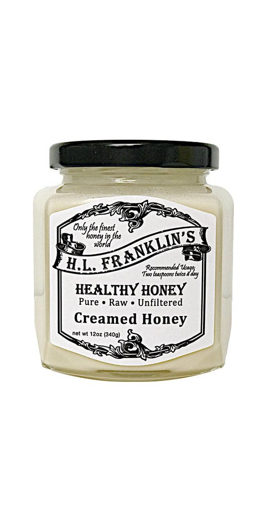 H.L. Franklin's Healthy Honey, Creamed Honey (12oz) by H.L. Franklin's Healthy Honey