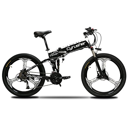 Cyrusher XF770 Folding Electric Bike 500W Mountain...