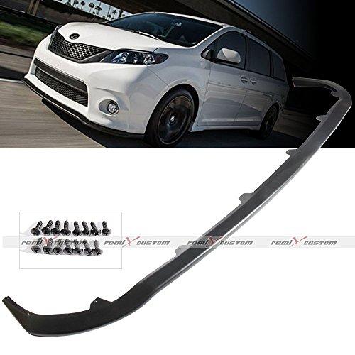 PU Bumper Lip for 2011-2017 Toyota Sienna SE MP Style Front Body Kit Bumper PU Lip Spoiler