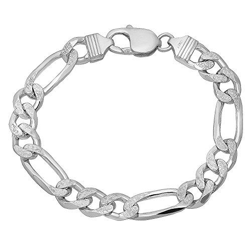 9 Inch Figaro Bracelet - 8