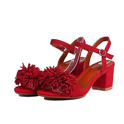 scarpe fiore alto sandali Femmina tacco seven tallone Donyyyy Thirty qEOfgznxUw