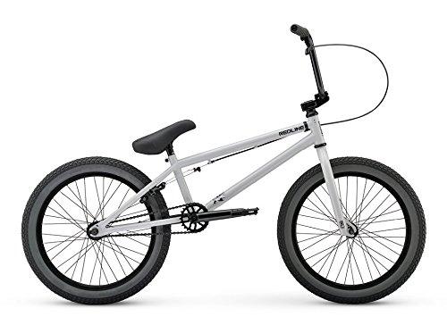 Redline Recon 20 Inch Freestyle BMX Bike, Grey