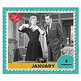 2018 I Love Lucy Calendar (Year-In-A-Box)