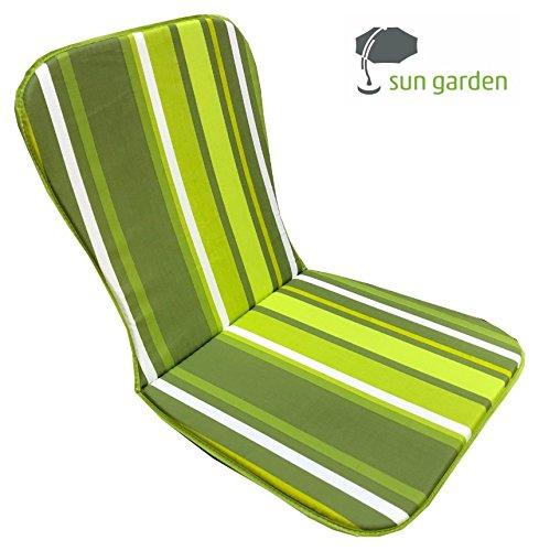 sun garden Cojines Acolchados con Monoblock Asiento Silla ...