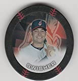 2014 Topps Poker Chipz Black Nick Swisher Cleveland Indians