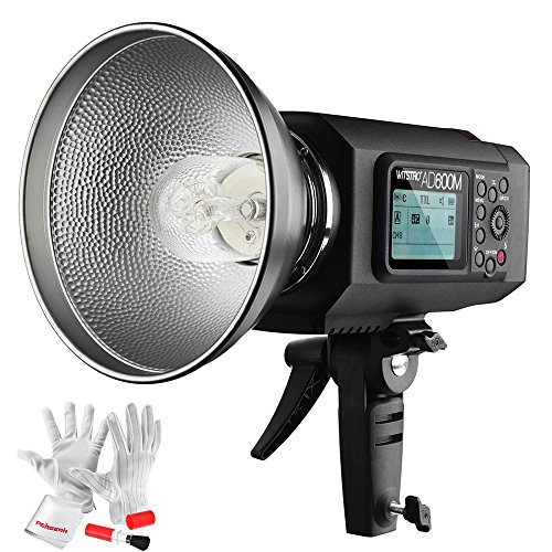 Godox AD600M Godox Mount 600Ws GN87 High Speed Sync Outdoor Flash Strobe Light with Built-in 2.4G System and 8700mAh Battery to Provide 500 Full Power Flashes and Recycle in 0.01-2.5 Second by Godox