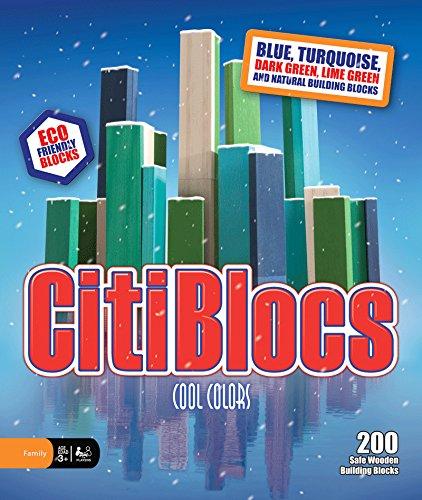 CitiBlocs cool-ColGoldt Bausteine (200 Teile)