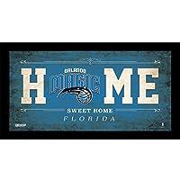 NBA Orlando Magic Home Sweet Home Sign, 10 x 20