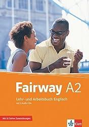 Fairway / Lehr- und Arbeitsbuch mit Zusatzmaterial und 2 Audio-CDs A2