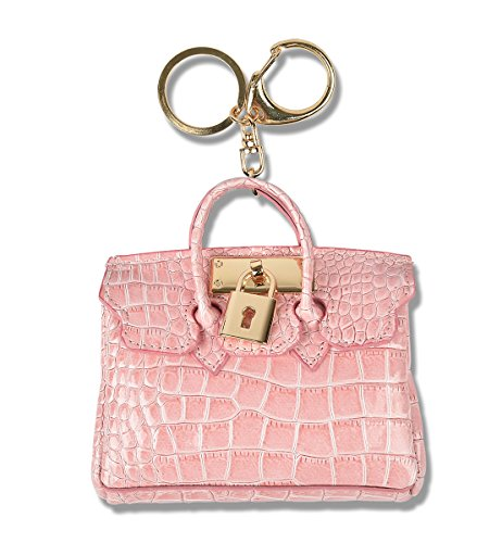 Car Key Chain Ring Coin Card Holder Small Wallet Bag Pouch Custom Accessories Leather KeyChain KeyRing (Light - List Vogue