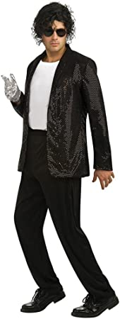 Rubbies - Disfraz de Michael Jackson Billie Jean para hombre, talla ...