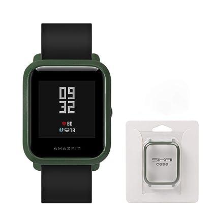 Auto Echo Protector de Pantalla para Xiaomi huami amazfit Bip Juvenil Smart Reloj Completa Funda Marco