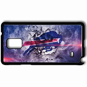 Personalized Samsung Note 4 Cell phone Case/Cover Skin 880 buffalo bills Black