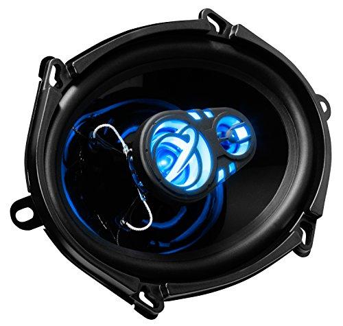 Planet Audio Car Speakers - 300 Watts of Power Per Pair, 150 Watts Each, Full Range, 3 Way, Sold in Pairs, Easy Mounting
