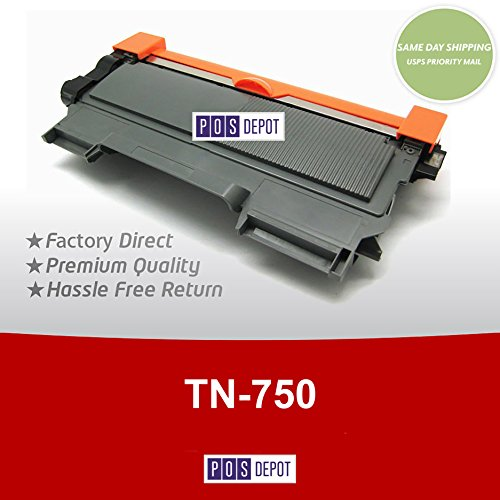 Brother TN-750 8000-Page High Yield Black Toner Cartridge for Select Models