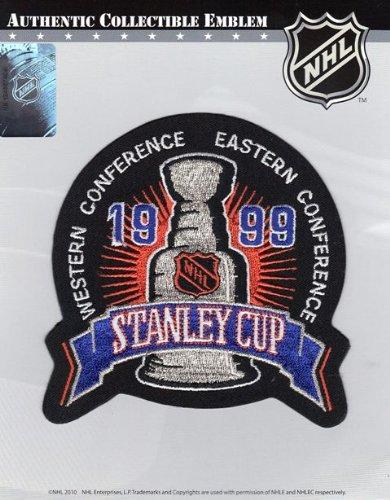 1999 NHL Stanley Cup Final Jersey Jersey Patch Dallas Stars vs. Buffalo ()