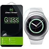 Samsung Gear S2 Glass Screen Protector, Dmax Armor- Ballistics [Tempered Glass] Anti-Scratch, Anti-Fingerprint, Round Edge [0.3mm] Ultra-clear - Retail Packaging