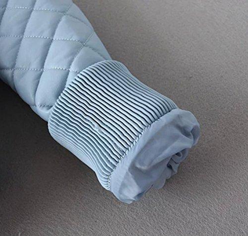 Abrigos Cazadoras Azul Cremallera Mujer Invierno Moto Jackets Biker Baymate Deportiva Chaquetas Imitacion Piel PwcT0nqp