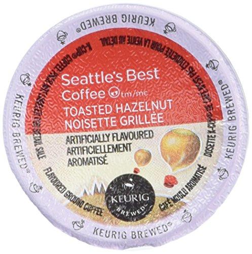 Stock Hazelnut (Seattle's Best Coffee Toasted Hazelnut K-cup 16 Packs (Pack of 2))