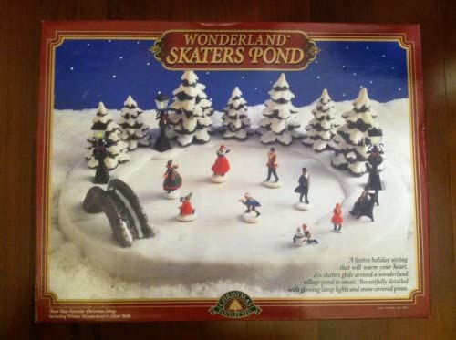 Christmas Fantasy LTD Wonderland Skaters Pond