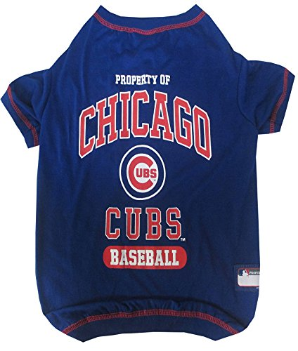 Pets First MLB Chicago Cubs Dog Tee Shirt,