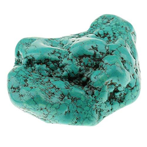 Jili Online Blue 9cm Turquoise Crystal Gemstone Rough Stone Mineral Specimen Crystal Stones