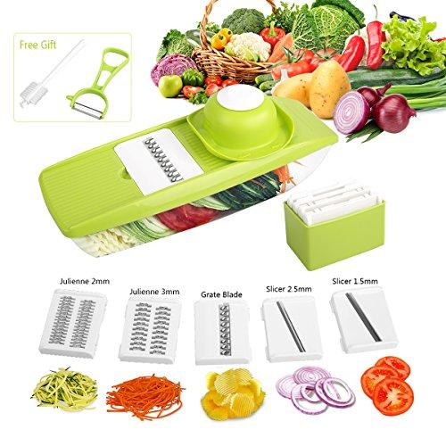vegetable slicer green - 3