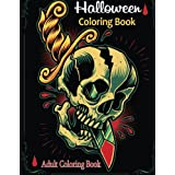 Adult Coloring Books: Halloween Coloring Books